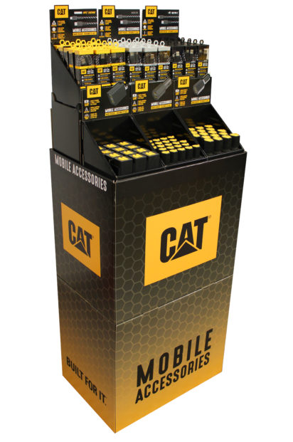 Cat® Floor Standing 6 PDQ Display